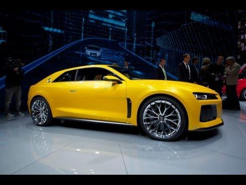 Audi Quattro Sport Concept Unveiled | 2013 Frankfurt Auto Show