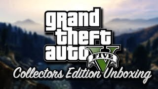 Grand Theft Auto V (GTA 5) - Collectors Edition Unboxing - (Xbox360/Playstation3)