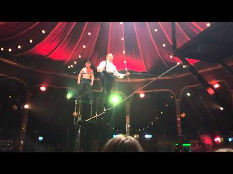 Absinthe Tour Le Monde at Crowne Casino Melbourne. Tightrope 3 of 4