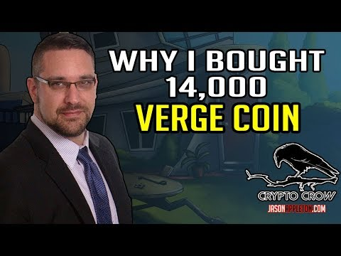 I bought 14,000 VERGE - John McAffee - Crypto Taxes - Crypto Prices and more.