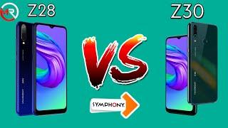 Symphony Z28 Vs Symphony Z30 Comparison in Bangla
