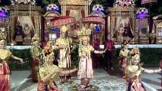 Tari pagar pengantin palembang (bedi) balai komando