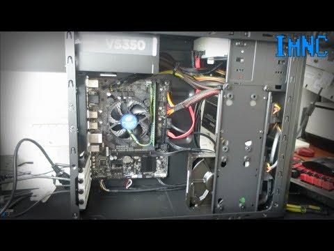 Intel Pentium G4560 Basic 2017 PC Build
