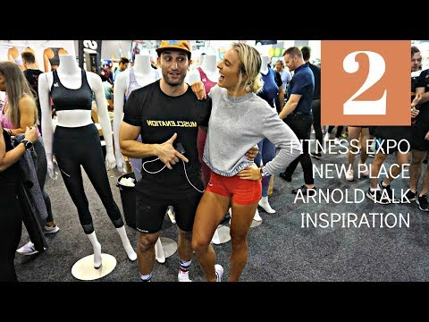 MELBOURNE PART 2 | FITNESS EXPO + NEW PLACE + ARNOLD TALK + INSPIRATION