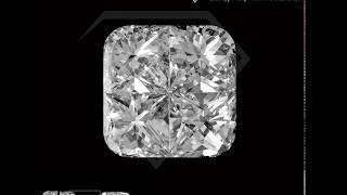 4pcs Cushion (Pie-Cut Diamonds)Made By HANS SHINE JEWEL