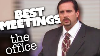 MICHAEL'S BEST MEETINGS | The Office | Comedy Bites