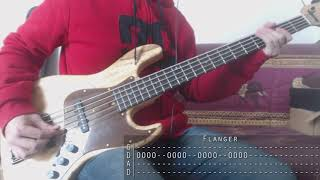 Tool - Lateralus Bass Cover + Tab