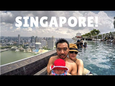 How To Get Into Singapore Marina Bay Sands Infinity Pool 2015 | GoPro Family