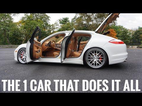 The Ultimate Do Everything Sports Sedan Porsche Panamera Turbo