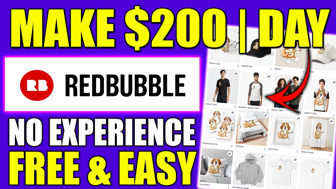 Download How To Make Money With Print On Demand & Earn $200 A Day (Start a Print On Demand Business)