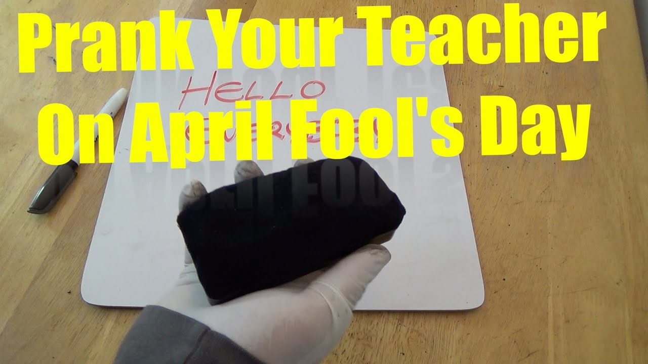 Prank you MUST do on your Teacher before school is over!!! - YouTube