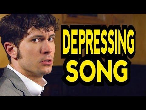 "DEPRESSING SONG (""Say Something"" Parody of A Great Big World & Christina Aguilera)"