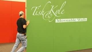 How To Install Tish&kyle's Moveable, Portable Walls