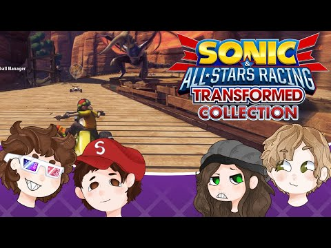 Sonic & All-Stars Racing Transformed - Oliver and his Broken Controller |