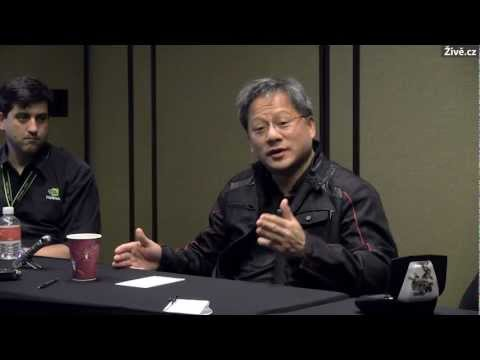 CES 2013 interview: Jen-Hsun Huang, CEO Nvidia