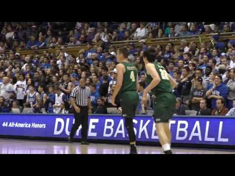 2016-17 Tribe Men's Basketball Highlights at Duke