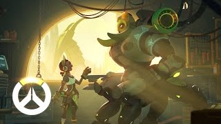 [NEW HERO - AVAILABLE ] Orisa Origin Story | Overwatch thumbnail