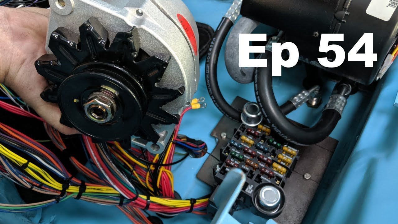Painless Wiring   100 Amp Gm Alternator