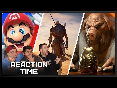 Ubisoft E3 2017 Conference - Reaction Time!