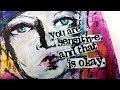 Dina Wakley Media *New Release* ART JOURNAL PAGE