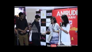 Singer Anirudh Ravichander visits Dubai | Gulf Round up 03 Mar 2016