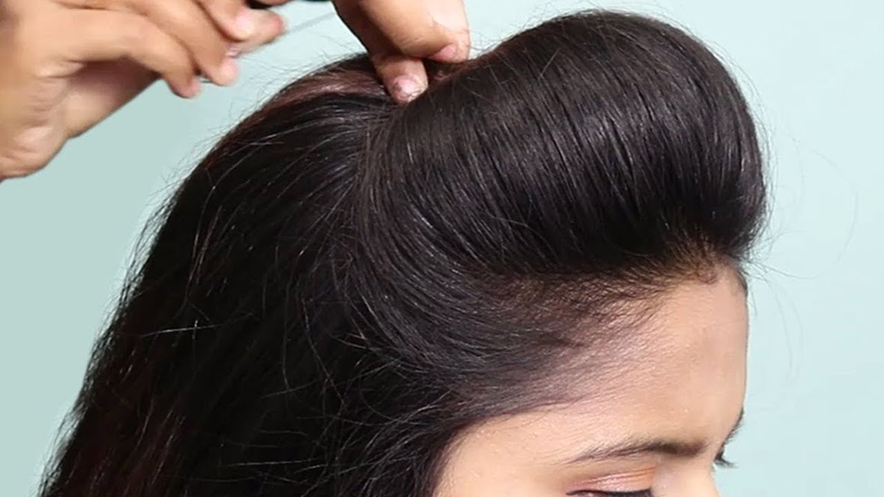 11 Easy Puff Hairstyles  How to Make Perfect Puff Hairstyle  Quick  Hairstyles for Medium Thin Hair