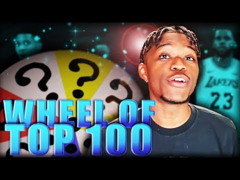 Spin The Wheel of ESPN TOP 100 Players in NBA 2K20