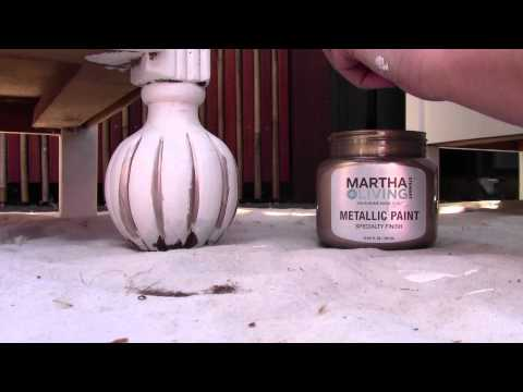 DIY Chalk Paint for Shabby Chic Furniture Refinishing