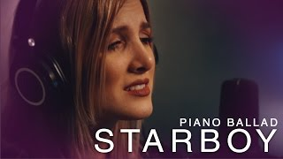 Video The Weeknd - Starboy - Piano ballad cover by Halocene download MP3, 3GP, MP4, WEBM, AVI, FLV Januari 2018