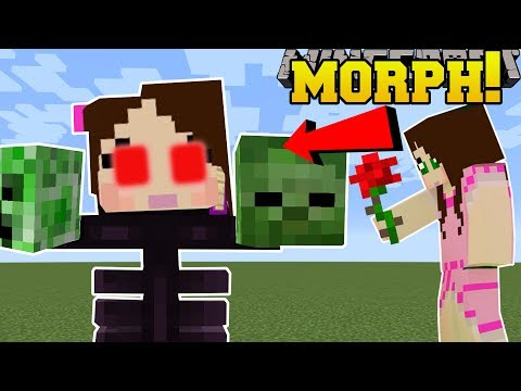 Thumbnail: Minecraft: MORPH INTO MOBS!! (BE MOBS & GAIN ABILITIES!) Mod Showcase