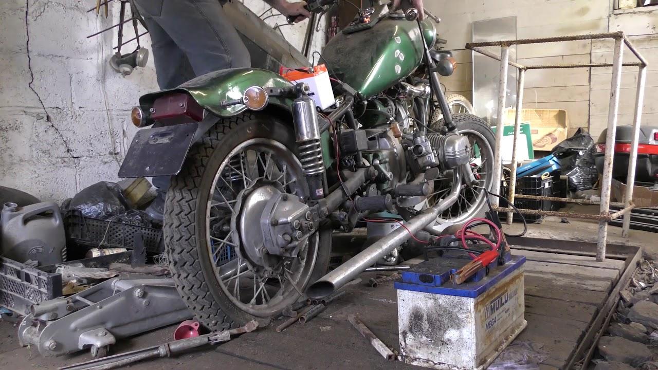 как починить мотоцикл урал ютуб лишь затем