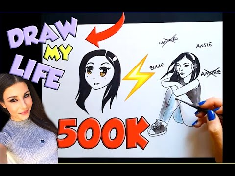 DRAW MY LIFE ⚡️ SPECIALE 500K | Nadia Tempest