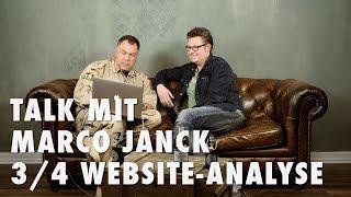Talk mit Marco Janck 3/4 - Fotografen Website Analyse
