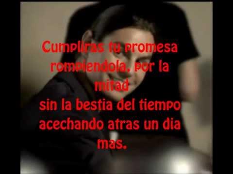 Julio Iglesias Jr. - Por la mitad (lyrics)