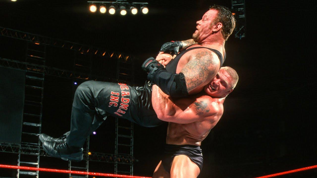 Download Brock Lesnar and The Undertaker's first match: WWE Unforgiven 2002 #Short