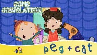 peg cat musical math sing along songs