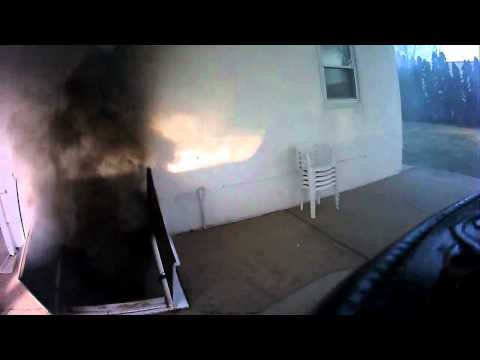 Village of Farmingdale Fire Department, NY working fire 11 Vernon St. Part 1