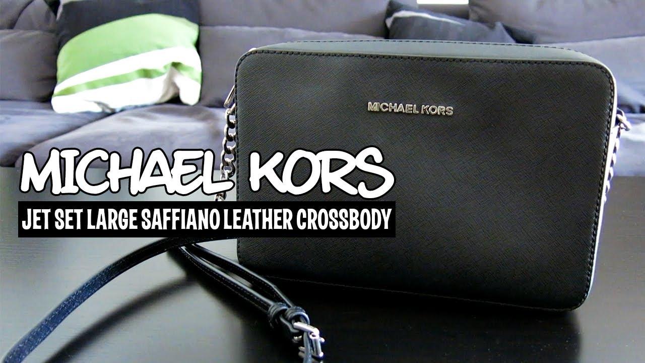 a closer look: Michael Kors Jet Set crossbody | fromkaren