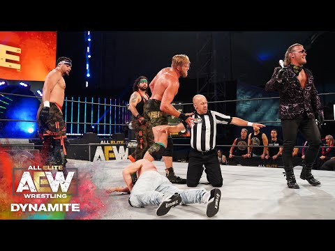 CHRIS JERICHO TURNS ORANGE CASSIDY INTO PULP | AEW DYNAMITE 6/ 10/20