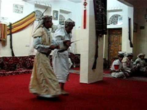 2005 Traditional dance in Manakha, Yemen