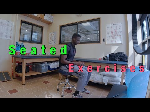 Amazing seated Chair workout | Great seated exercises you can do virtually anywhere