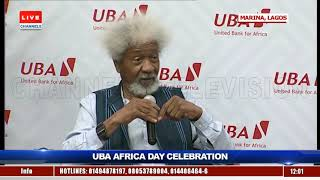 History Is Not Just For Academics But For Development - Wole Soyinka