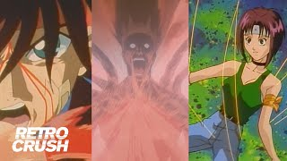 Epic Anime Fight Scenes from Flame of Recca #1