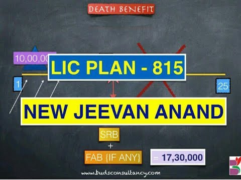 LIC PLAN - 815 NEW JEEVAN ANAND