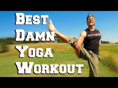 30 Min BEST DARN YOGA WORKOUT! HEART POUNDING Strength Flexibility Full Body Workout #poweryoga