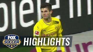 Borussia Dortmund vs Hamburger SV  2017-18 Bundesliga Highlights