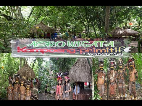 Ternyata Ada Kampung Primitif di Gambiran-Kemenpar Kagumi Agro Wisata purwodadi Banyuwangi