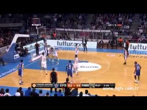 Anadolu Efes - Real Madrid 75-72 | Maç özeti Highlights (Euroleague Top 8 3. Maç 21 Nisan)