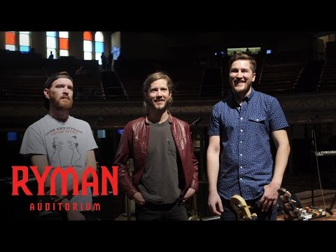 Moon Taxi   Backstage at the Ryman Presented by Nissan   Ryman Auditorium