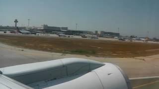 Palma De Mallorca Airport Takeoff
